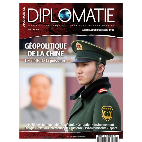 Diplomatie, avril 2014, Géopolitique de l'eau en Chine, Franck Galland