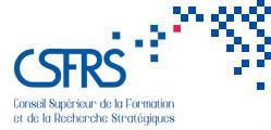 Franck Galland, Séminaire Eau et conflictualités, CSFRS